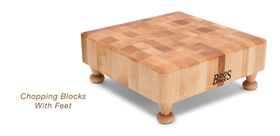 NEW Boos Chopping Blocks With New Style Feet