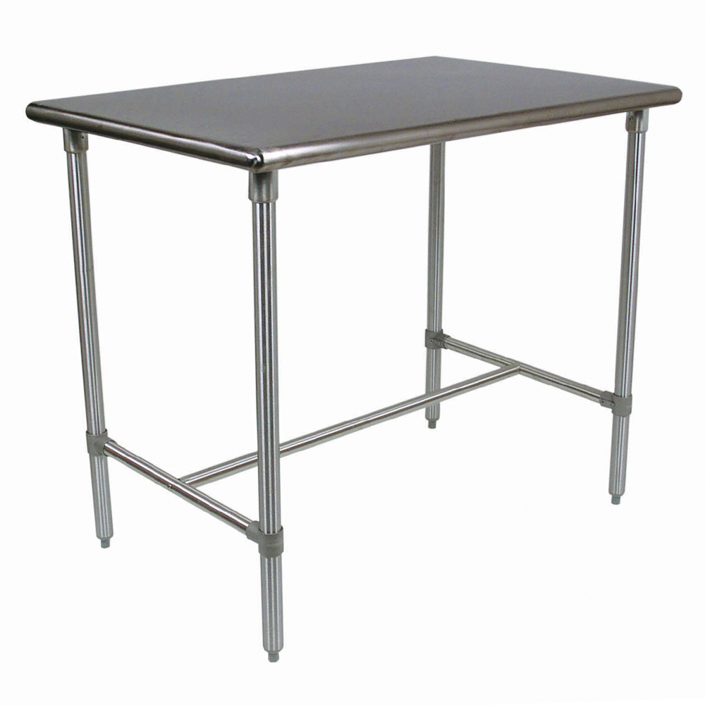 Boos Blocks BBSS Stainless Steel Cucina Classico Kitchen Work Table,  Stainless Steel Top, Legs