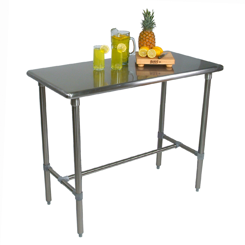 john boos cutting boards kitchen equipment islands counter tops - Kitchen Steel Table