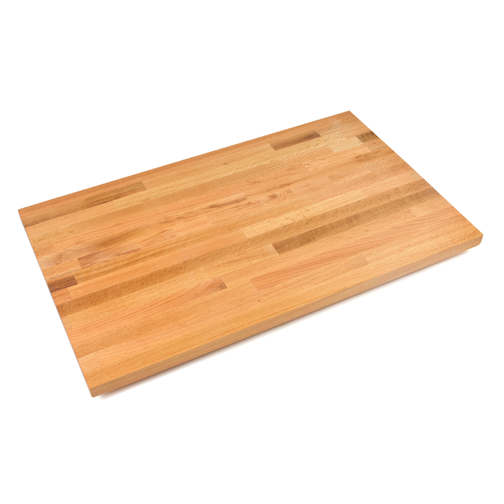 Oak Butcher Block Kitchen Island : Butcher Block Countertops & Backsplashes: Blended Appalachian Red Oak, 1-1/2