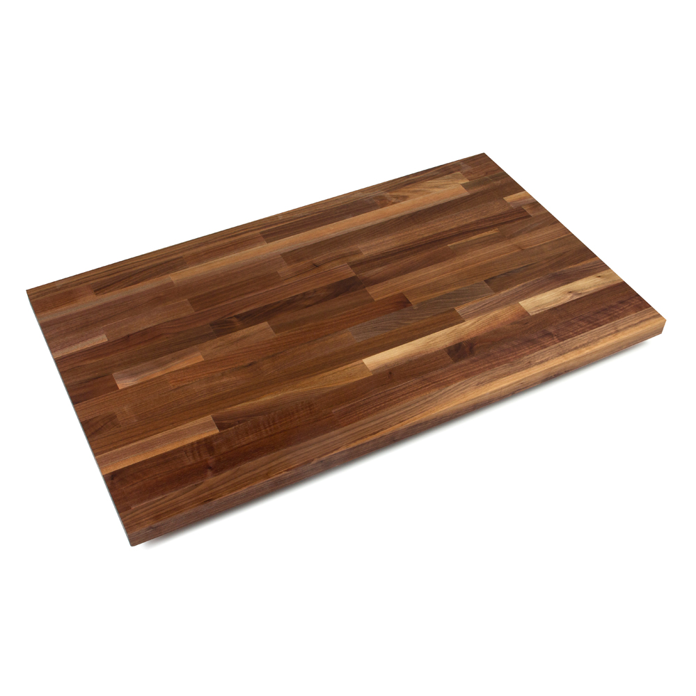 Backsplashes With Butcher Block Countertops : Butcher Block Countertops & Backsplashes: Blended American Black Walnut, 1-1/2
