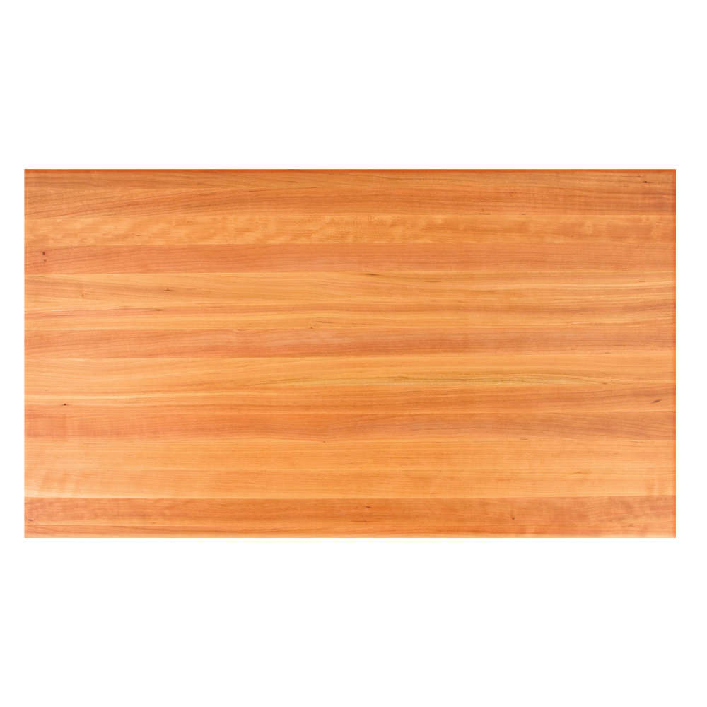 Awesome Dining Table Tops Rectangle Solid Cherry Butcher Block Beutiful Home Inspiration Cosmmahrainfo