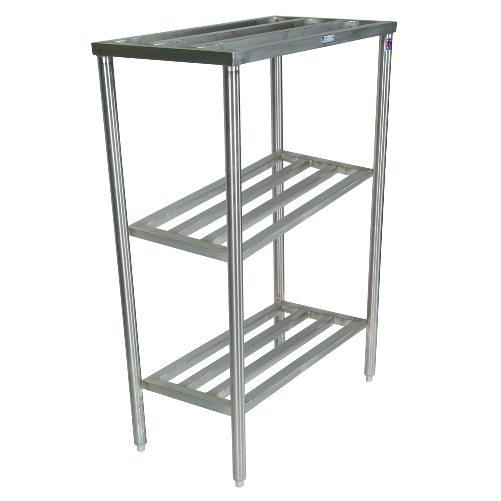 Stainless Steel Shelves Stainless Steel Cooler Rack 3 Shelf Unit John Boos