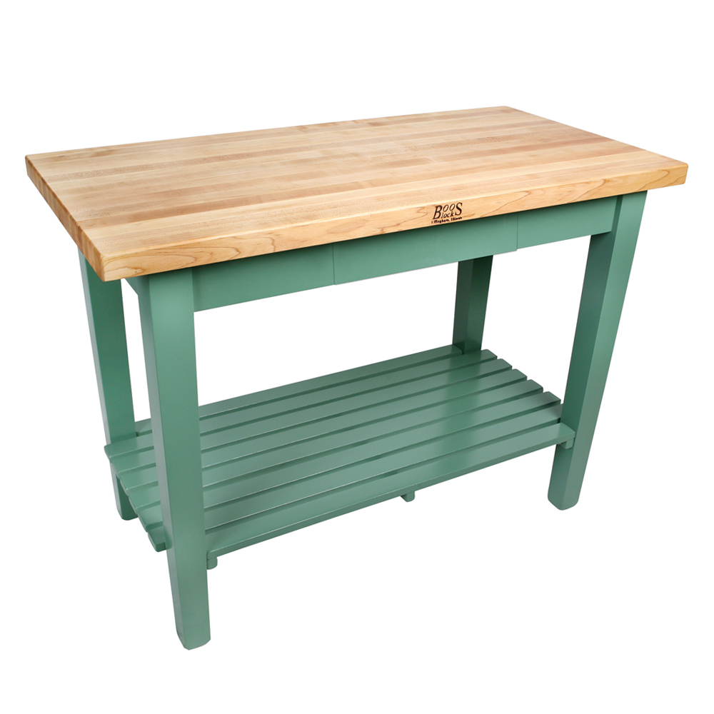 Kitchen Islands & Tables: Maple Classic Country Work Table