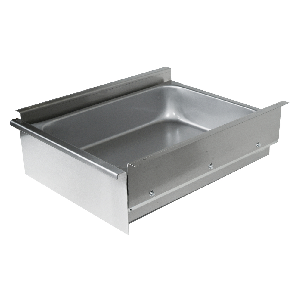 Stainless Steel Drawers For Wood Top Tables