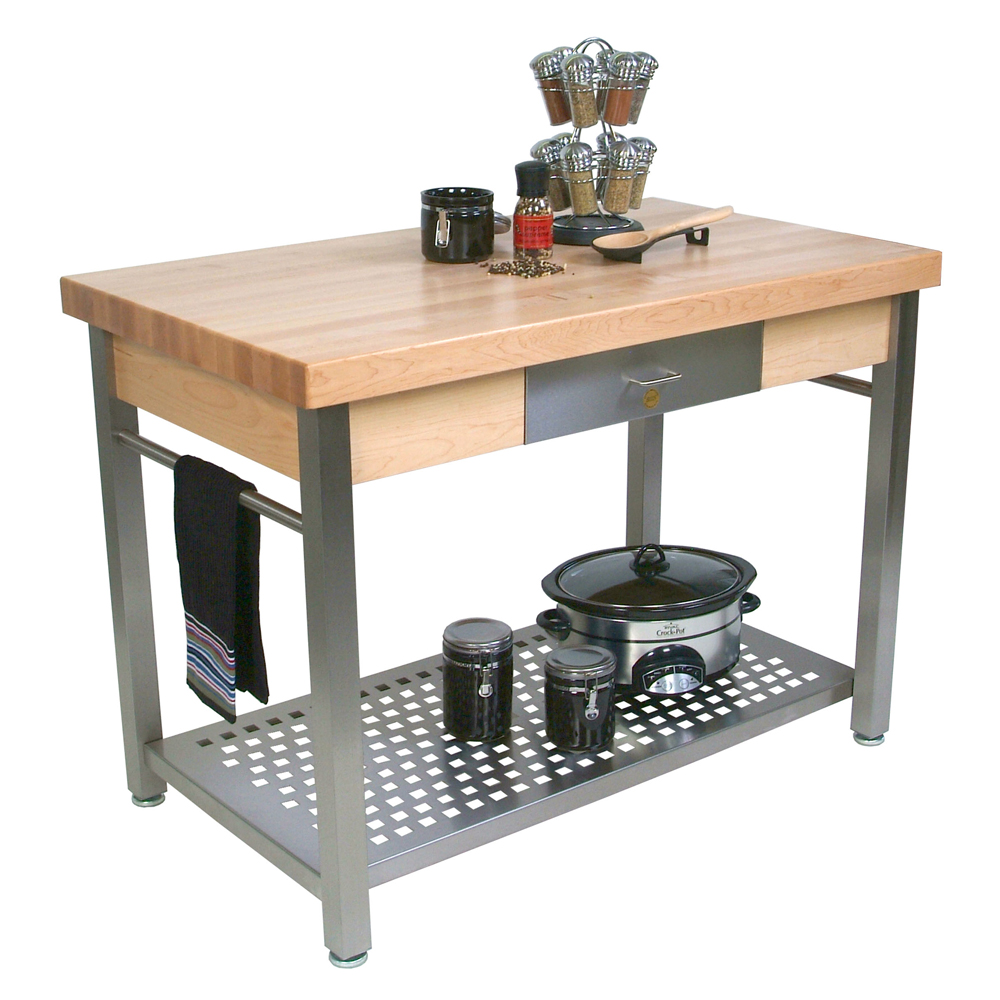 Kitchen Island Or Table Kitchen Islands Tables Maple Top Kitchen Island Available With