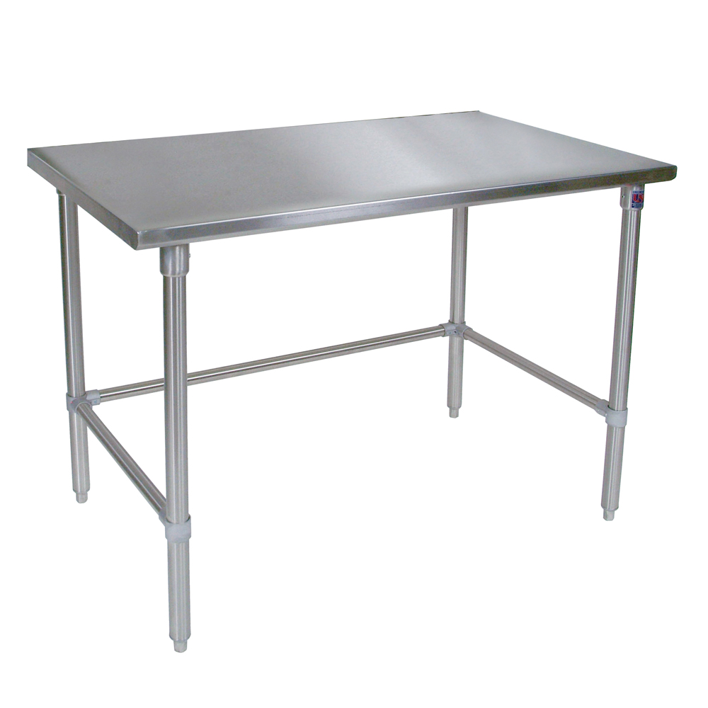 Stainless steel work table stainless steel work table for Table width not working