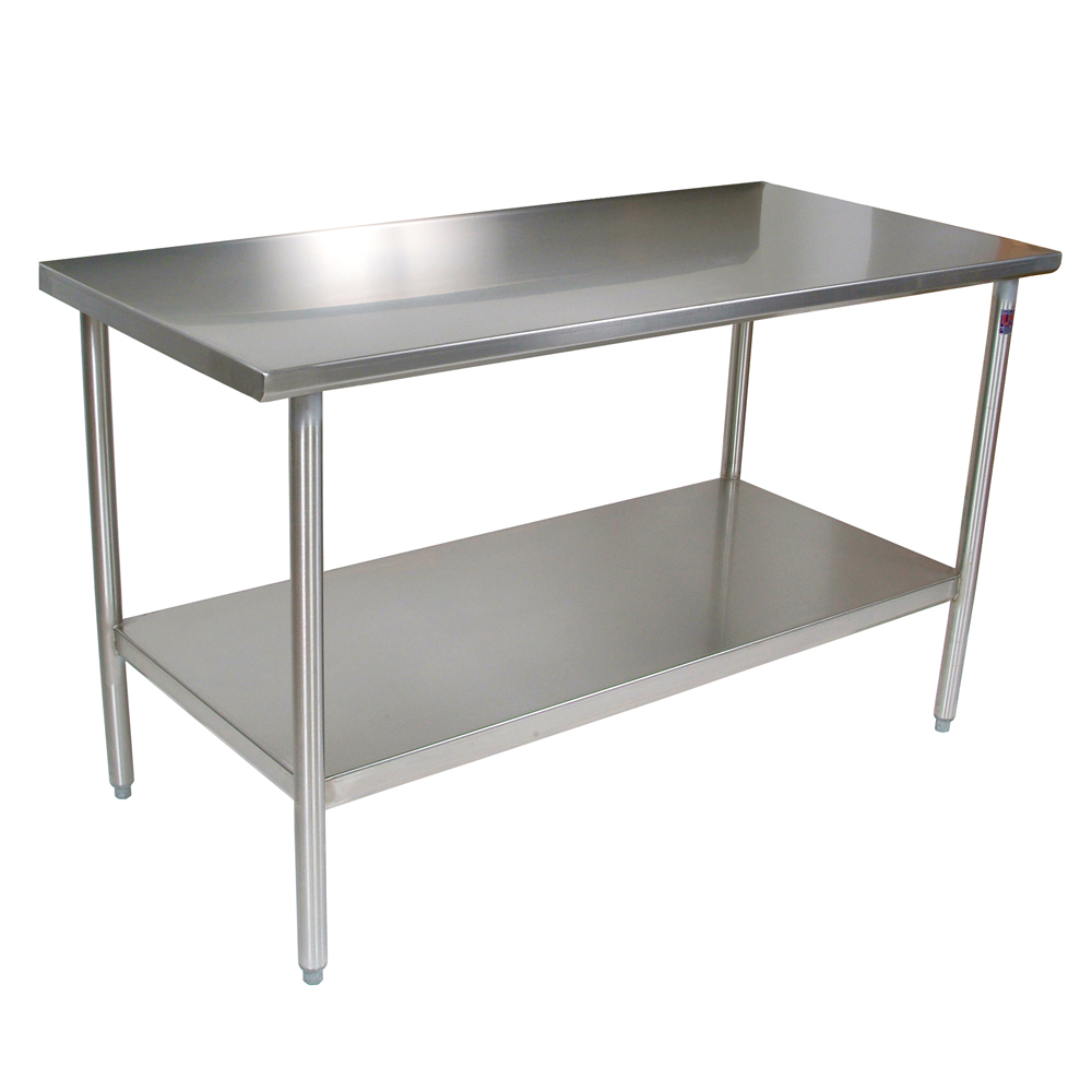 Kitchen work table - Boos Blocks Cucta Cucina Tavalo Kitchen Work Table Stainless Steel Top Ajdustable Undershelf