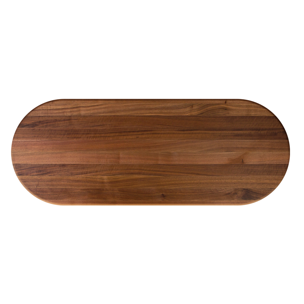 Boos Blocks Walnut Butcher Block Dining Tops Oval