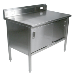 deli stainless steel work table 180-4