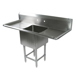 One Bowl Compartment Sink, 1PB