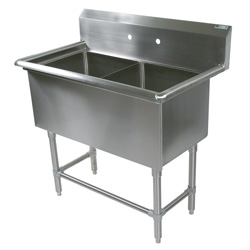 Two Bowl Compartment Sink, 2PB