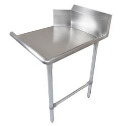 CDT6-S Clean Dishtable Stainless Steel Legs