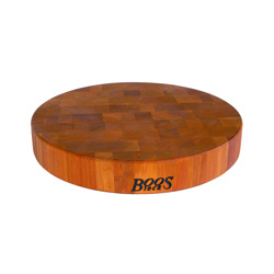 Boos Blocks Cherry End Grain Non-Reversible Chopping Blocks