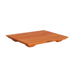 Boos Blocks Cherry Fusion Cutting Board With Wood Feet, Model CHY-FB
