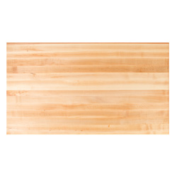 Dining Table Tops Rectangle Solid Hard Maple Butcher