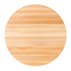 Boos Blocks Hard Maple Butcher Block Dining Tops - Round