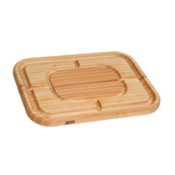 Boos Blocks Maple Mayan Carving Board, With Juice Grooves & Pyramid Design