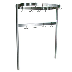 John Boos Stainless Steel Pot Rack PRTC