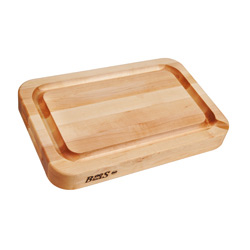 Boos Blocks Maple RAD Cutting Board With Juice Groove, Pour Spout, And Radius Corners
