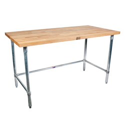 SNB John Boos Maple Wood Top Work Table