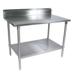 ST6R5-SSK John Boos Stainless Steel Work Table