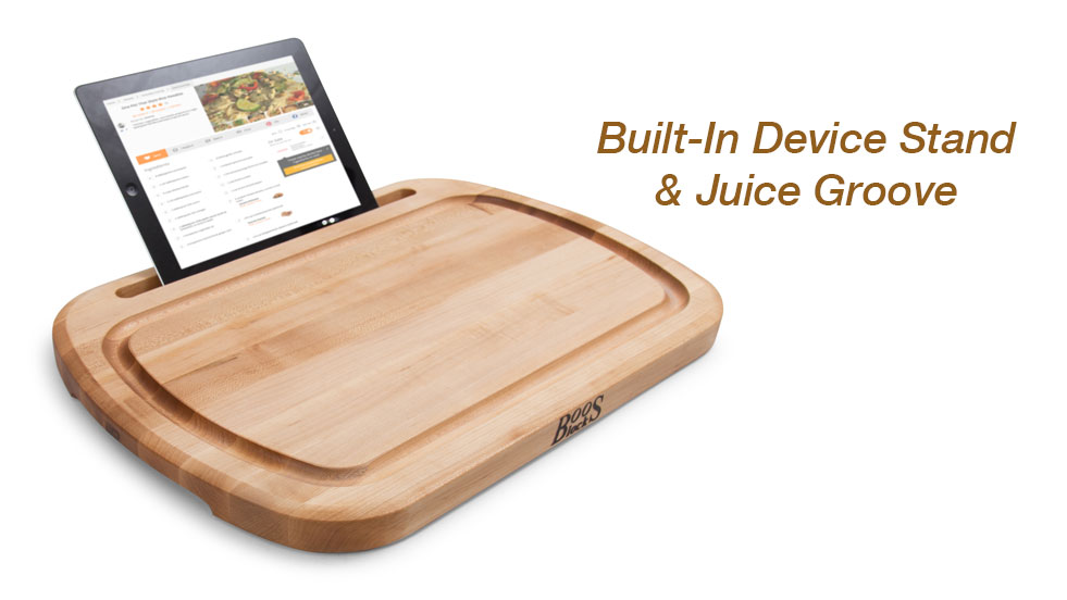New iBlock Pro Cutting Board w/Device Stand