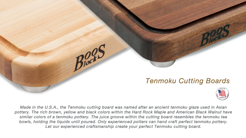 Boos Block - Tenmoku Wood Cutting Boards