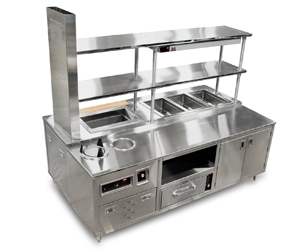 UL LISTED - CHEFS COUNTER